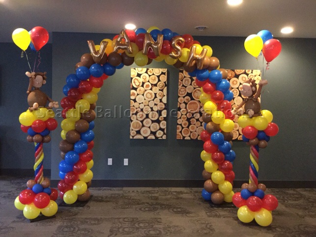 Curious George | Seattle Balloon Decorations