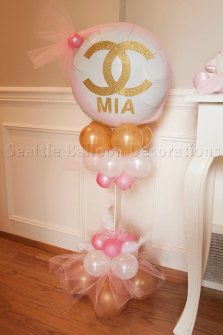 Chanel Theme Baby Shower Seattle Balloon Decorations