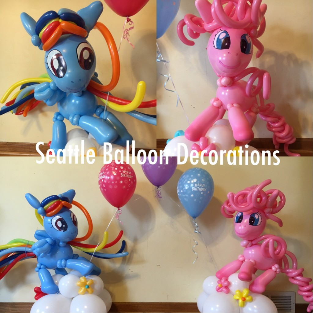 My Pony Arch Seattle Balloon Decorations