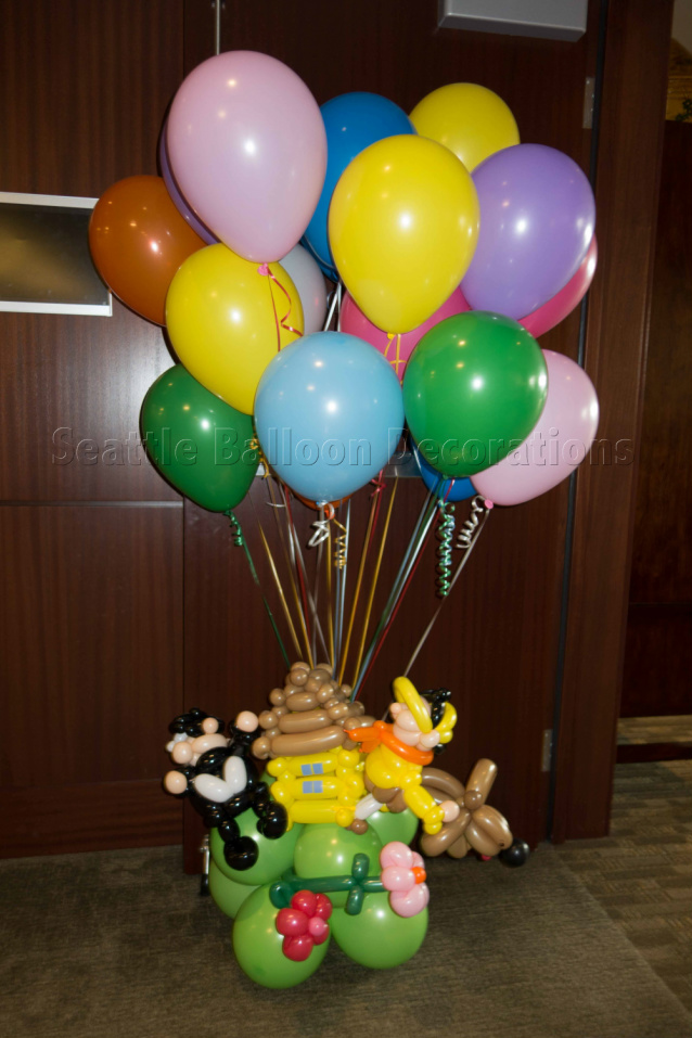 Travel Theme Baby Shower Seattle Balloon Decorations