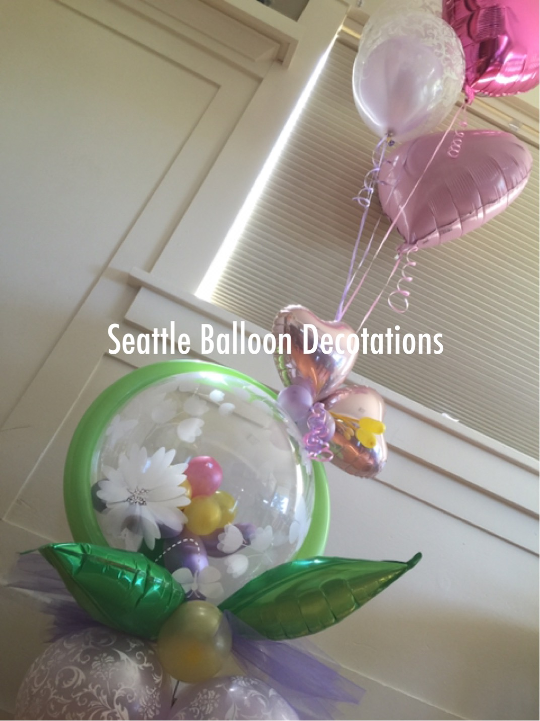 Mothers Day Bouquet Seattle Balloon Decorations
