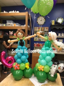 Frozen Balloon Delivery (Elsa and Anna)