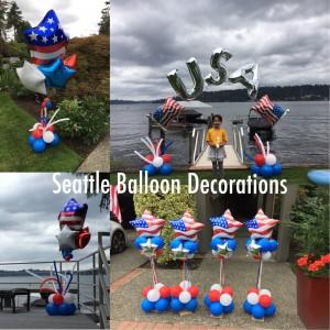July 4th decoration