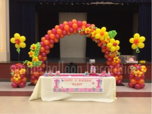 1year Old Girl Birthday Party Decoration