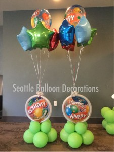 Balloon bouquet $90/2