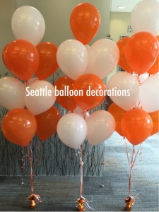 10 balloons bouquet ($30)